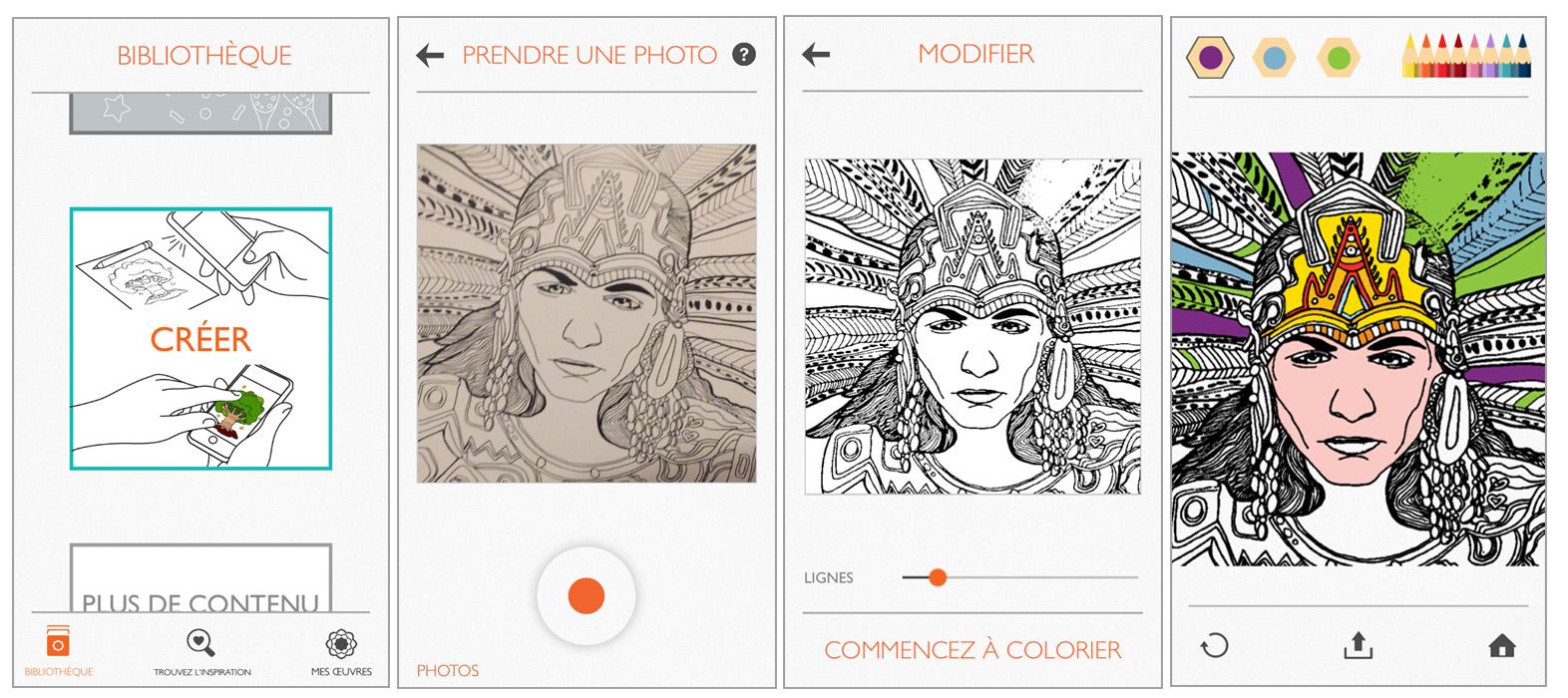 Découvrez Colorfy Une Appli De Coloriage Pour Adulte Sur