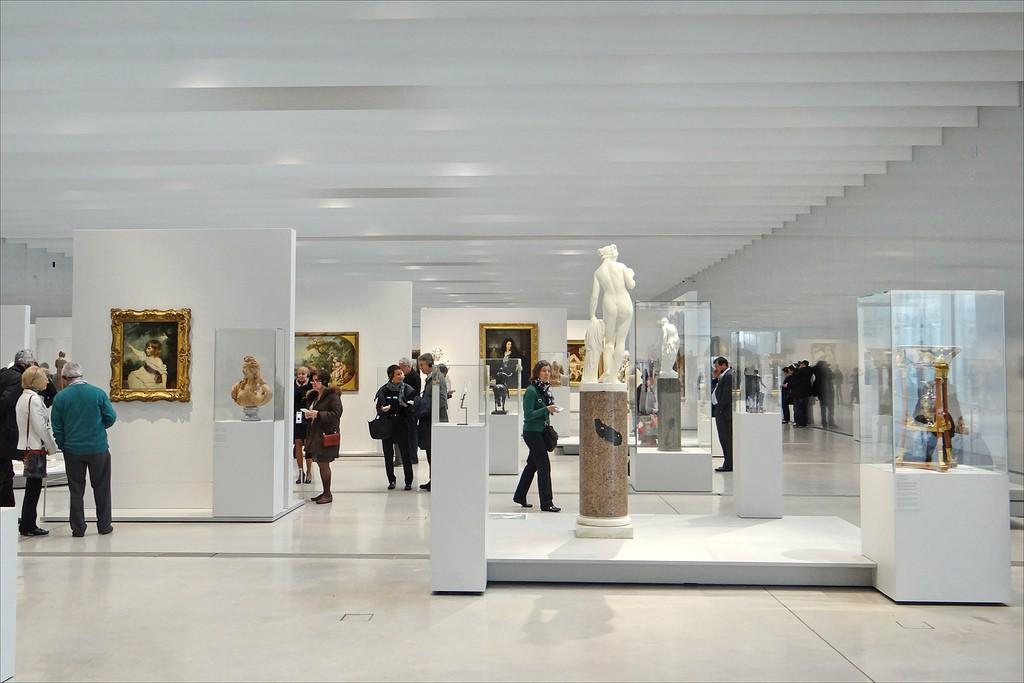 La Galerie du temps - Louvre Lens