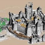 Coloriages Moyen âge