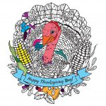 Coloriages Thanksgiving