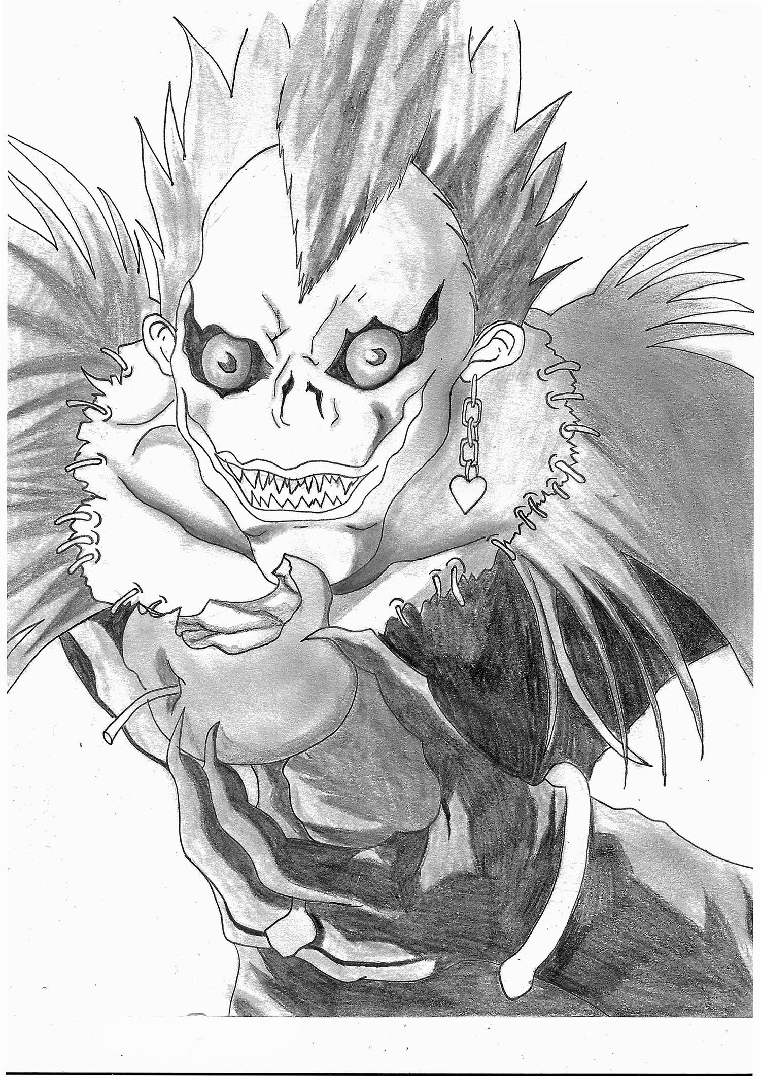 Tutoriel manga tutosmangapersos archives just color coloriages difficiles pour adultes - Dessin de demon ...