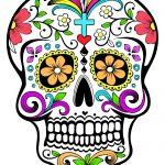 Coloriages El Día de los Muertos