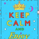 Coloriages Keep calm and ...