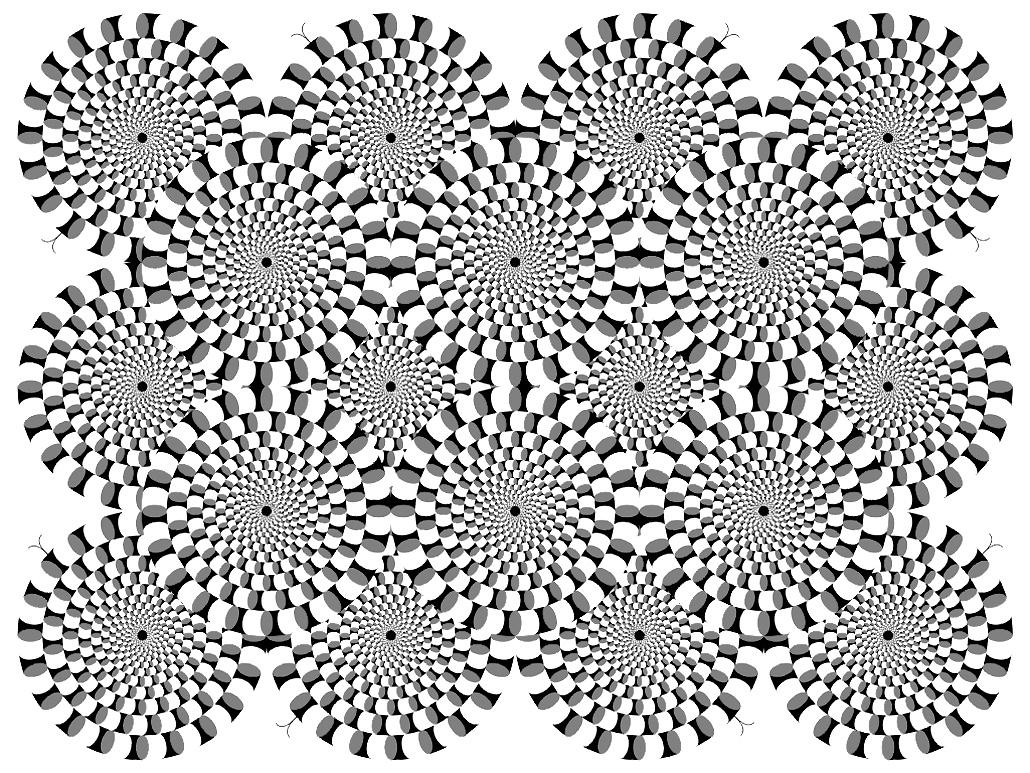 Coloriage Anti Stress Illusion Doptique.Illusion Optique 2 Anti Stress Art Therapie Coloriages