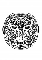 coloriage-adulte-masque-africain-5 free to print