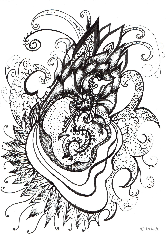 Coeur et variationA partir de la galerie : Anti StressArtiste : Urielle