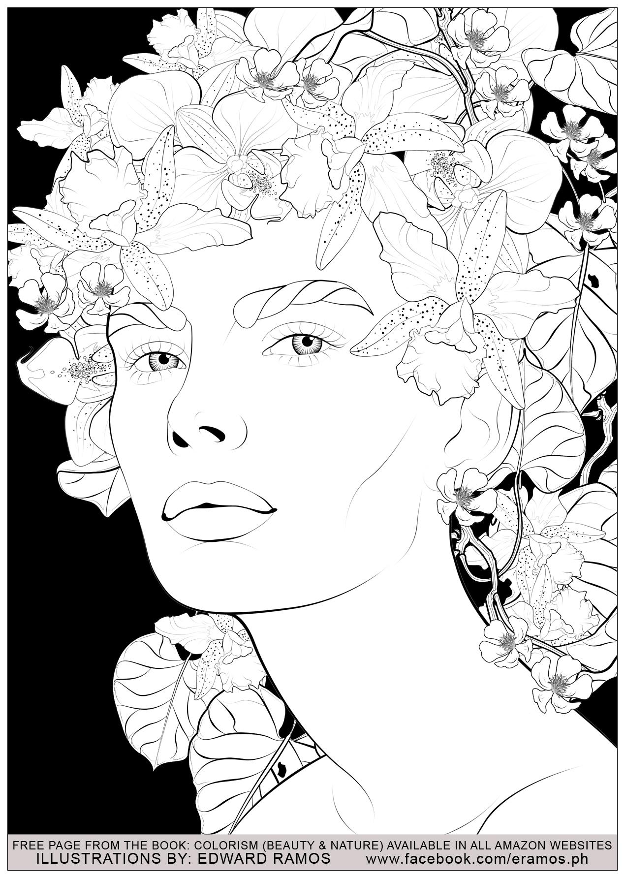 Illustration tirée du livre ' Colorism: Beauty & Nature' d'Edward Ramos - 11