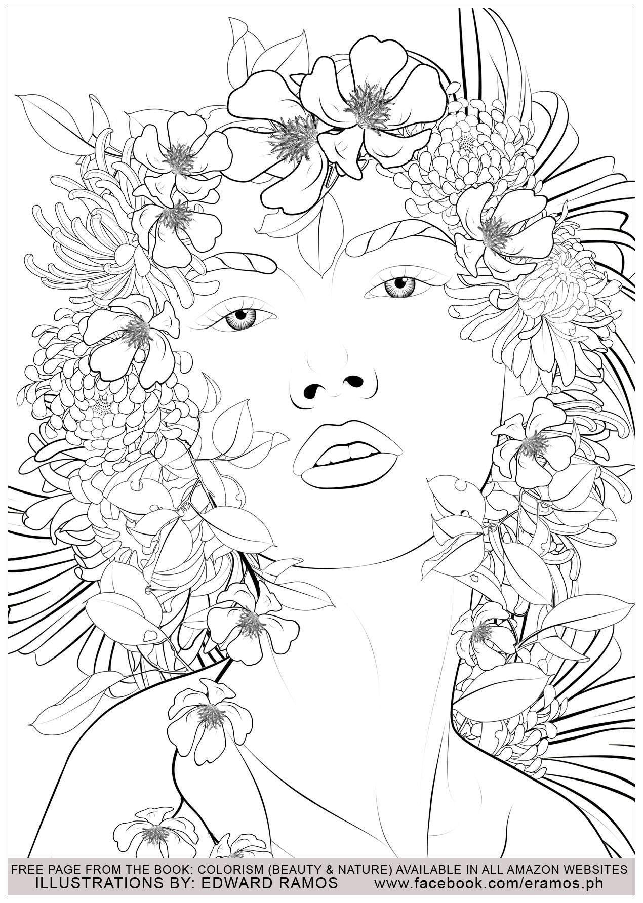 Illustration tirée du livre ' Colorism: Beauty & Nature' d'Edward Ramos - 6