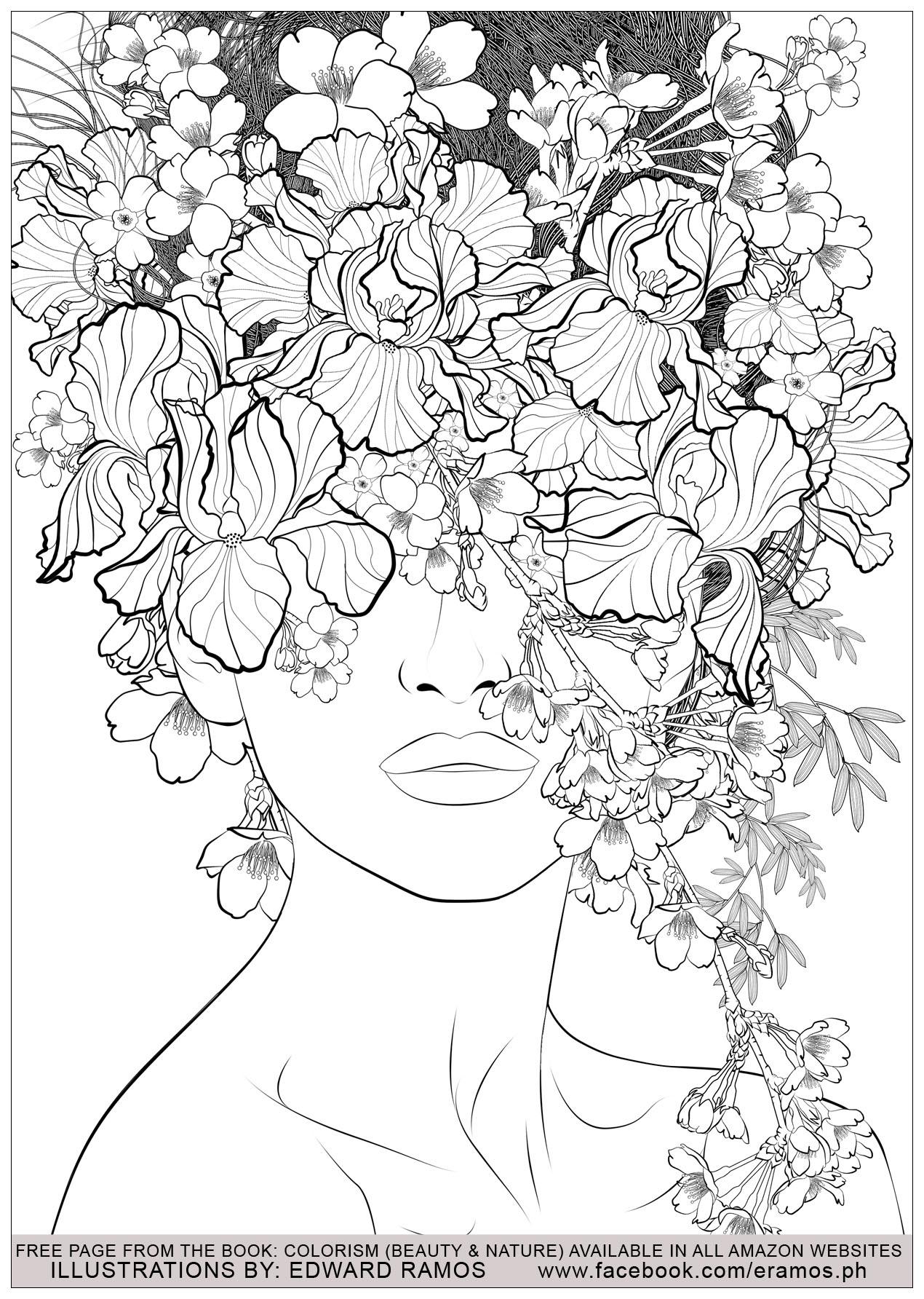 Illustration tirée du livre ' Colorism: Beauty & Nature' d'Edward Ramos - 7