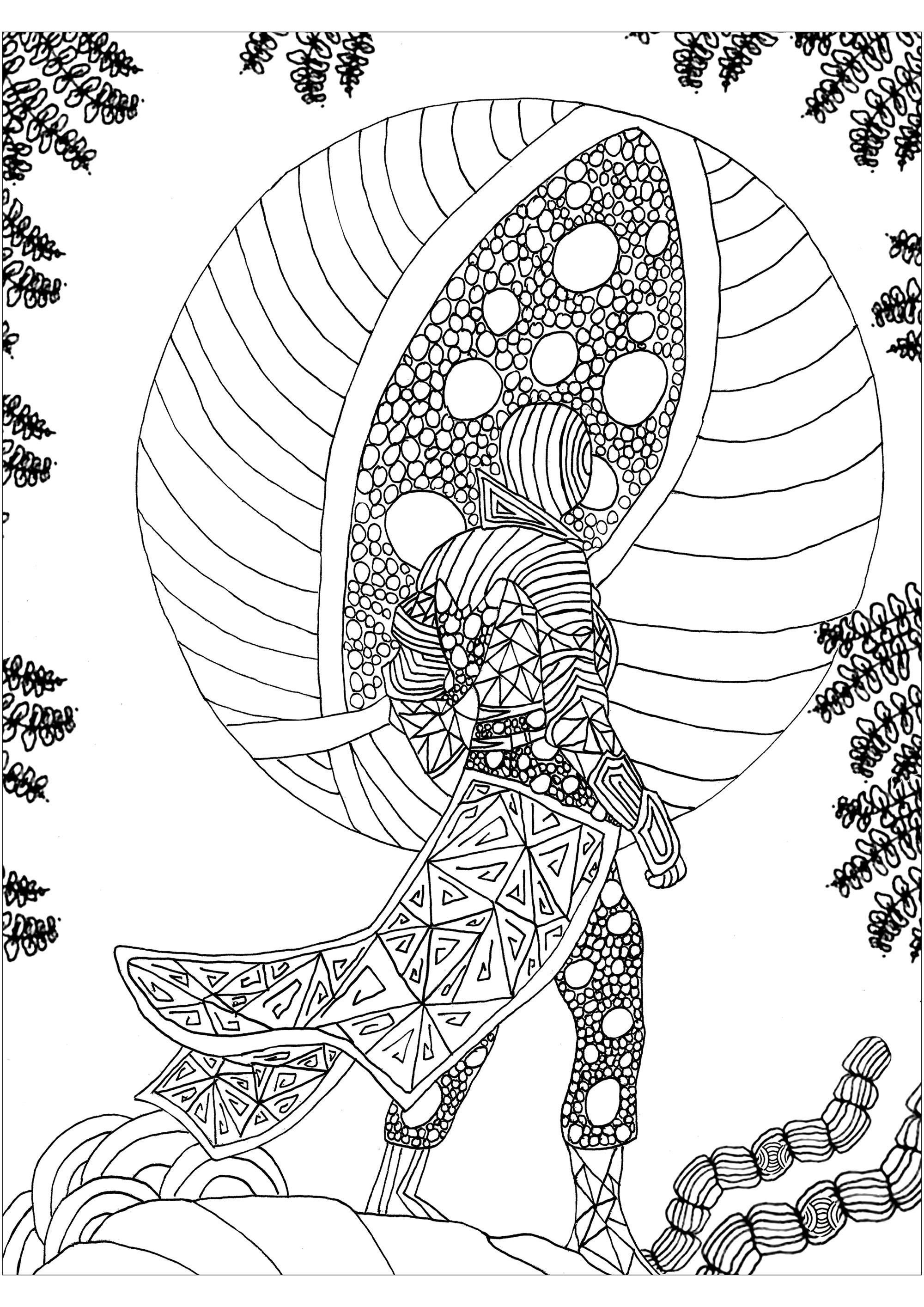 Nouveau monde - Anti-stress & Art-thérapie - Coloriages ...