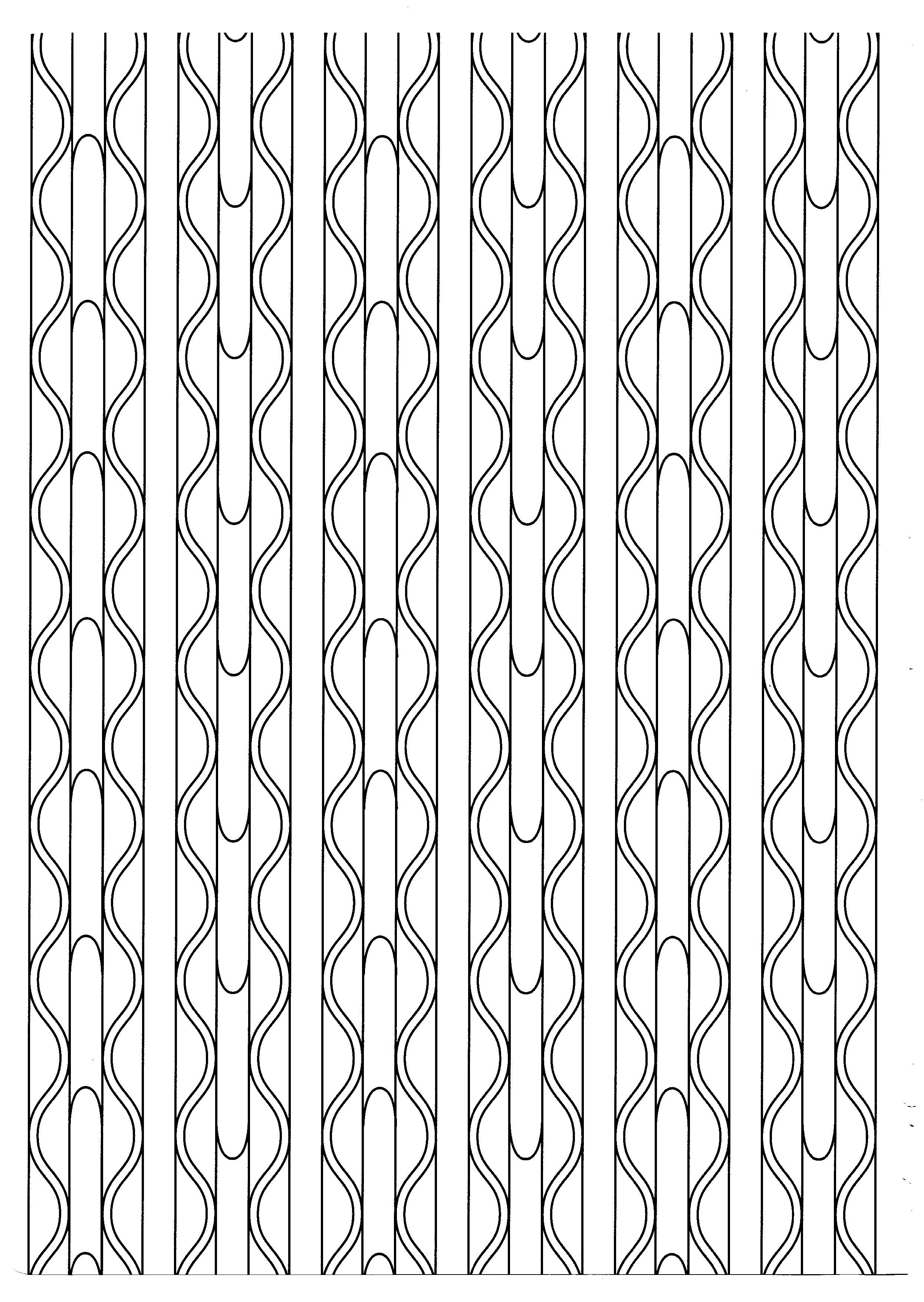 Zen motifs lignes