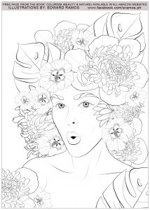 Coloriage beauty and nature edward ramos 10