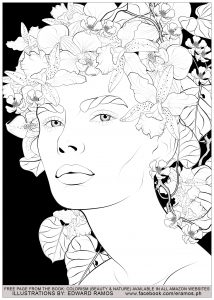 Coloriage beauty and nature edward ramos 11