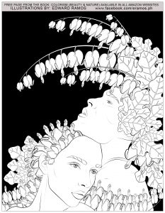 Coloriage beauty and nature edward ramos 14