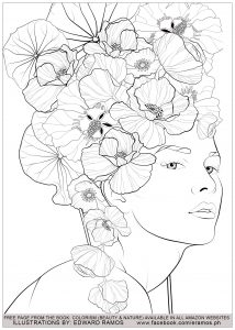 Coloriage beauty and nature edward ramos 3