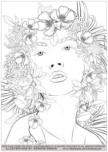 Coloriage beauty and nature edward ramos 6