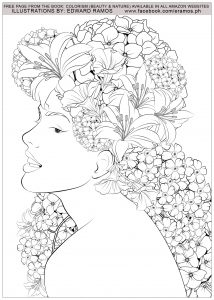 Coloriage beauty and nature edward ramos 8
