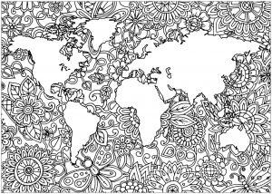Planète Terre et Fleurs   1