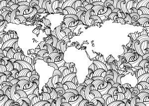 Planète Terre et Vagues   2
