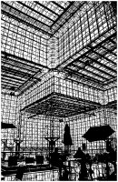 Coloriage adulte pei jacob javits center new york
