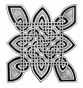 Coloriage art celtique 21