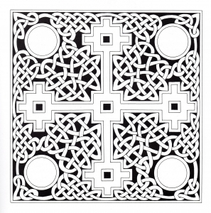 Coloriage art celtique 22