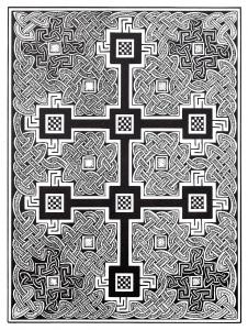 Coloriage art celtique 24