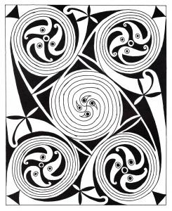 Coloriage art celtique 31