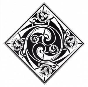 Coloriage art celtique 32
