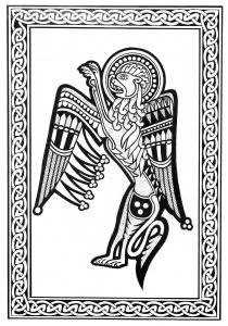 Coloriage art celtique 33