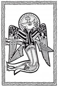 Coloriage art celtique 35