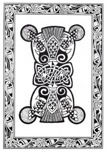 Coloriage art celtique 37