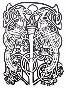 Coloriage art celtique 38