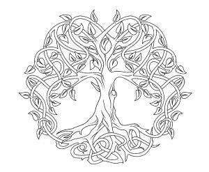 Coloriage art celtique 63