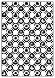 Coloriage adulte motifs geometriques art deco 5