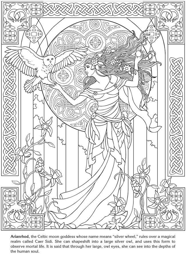 Arianrhod deesse celtique