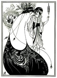 coloriage-adulte-illustration-art-nouveau free to print