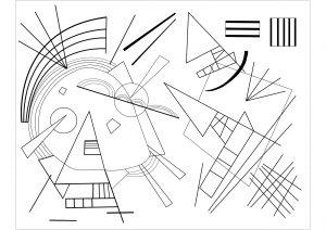 Vassily Kandinsky : Noir et violet