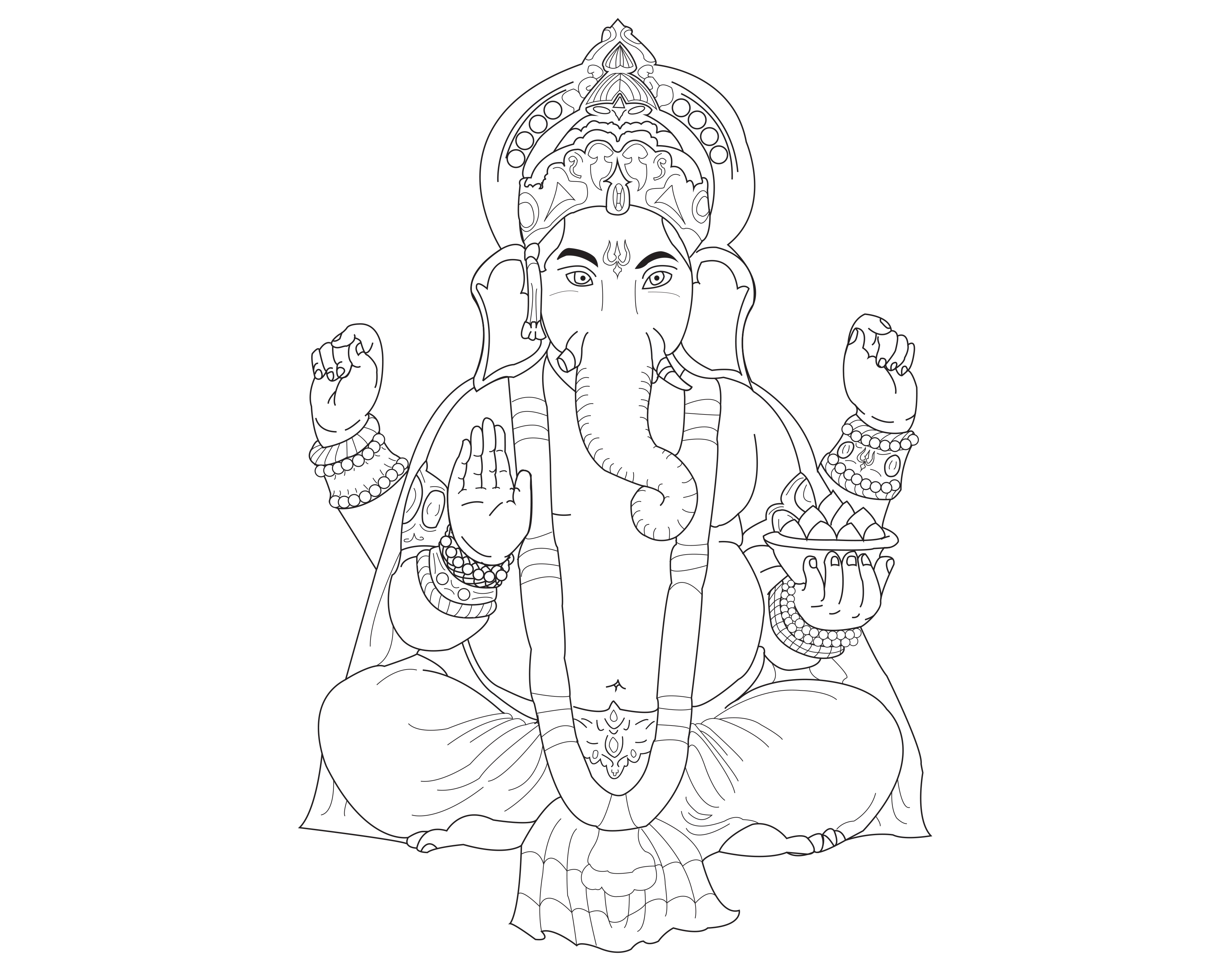 Ganesh, le dieu Hindou de la sagesse