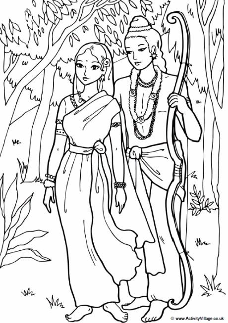 Image inspirée des films de Bollywood, avec un style très enfantin, mais une certaine complexité (nombreuses zones)