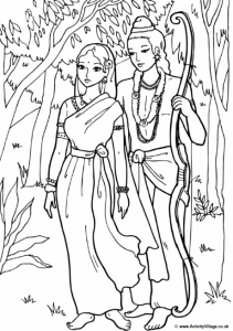 Coloriage inde bollywood