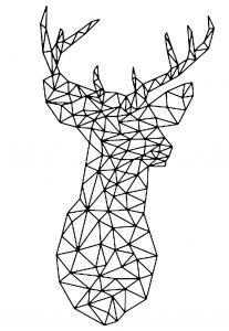 Cerf vectoriel
