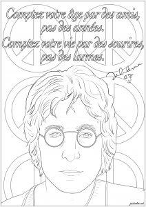 John Lennon : Comptez votre âge par des amis, pas des années. Comptez votre vie par des sourires, pas des larmes.
