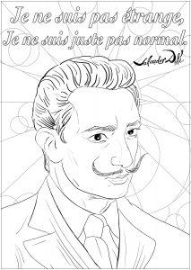 Salvador Dali : Je ne suis pas étrange, je ne suis juste pas normal