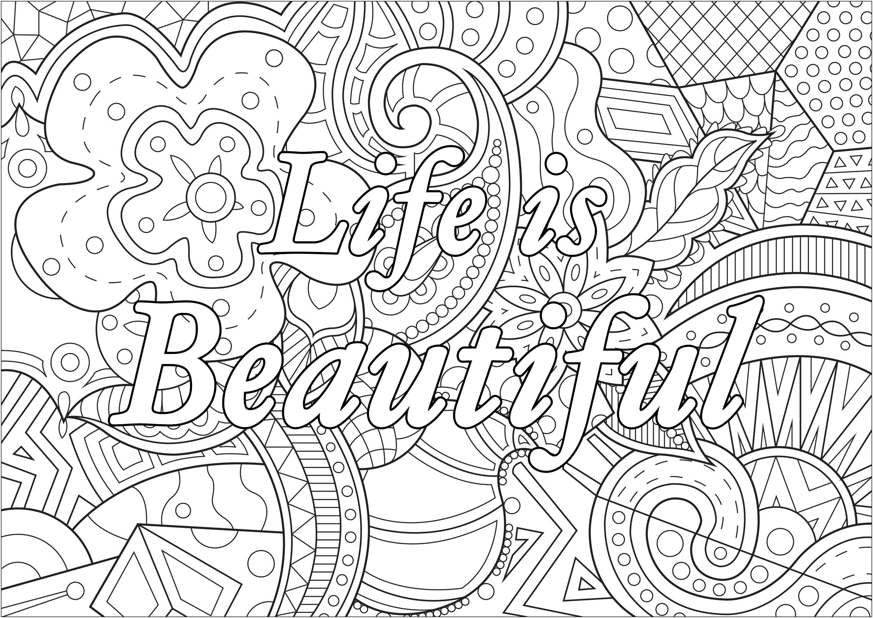 Life is beautiful (La vie est belle)