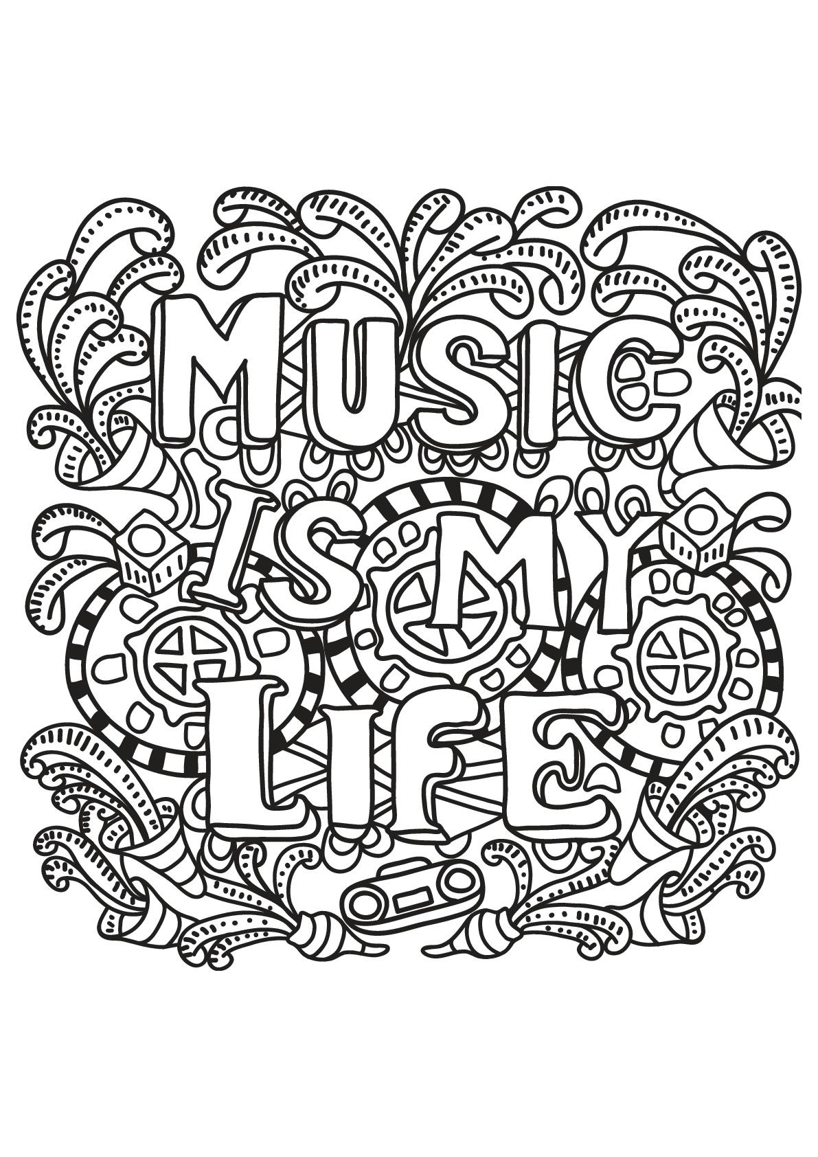 Music is my life (La musique c'est ma vie)