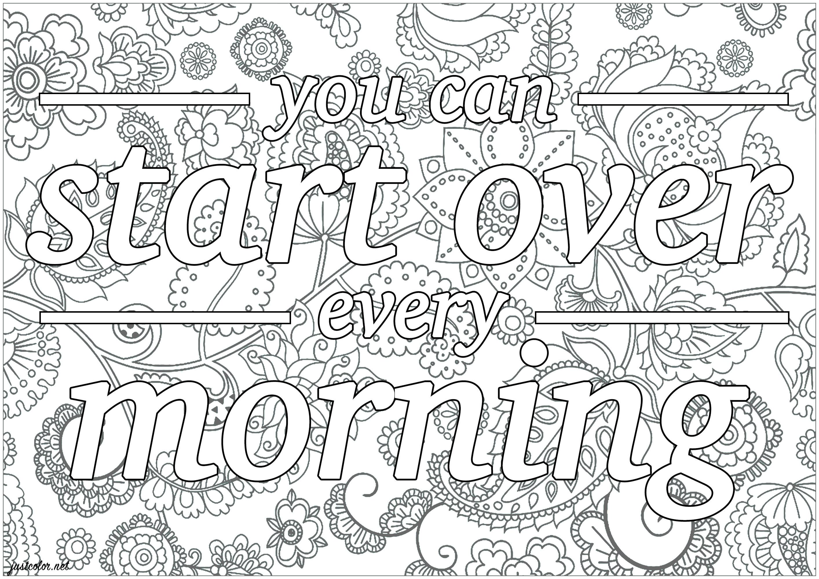You can start over every morning - Tyler Joseph