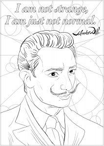 Salvador Dali : I am not strange, I am just not normal
