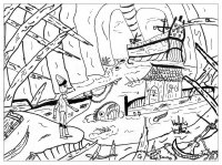 coloriage-adulte-pinocchio free to print