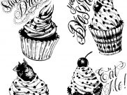 Coloriages Cupcakes